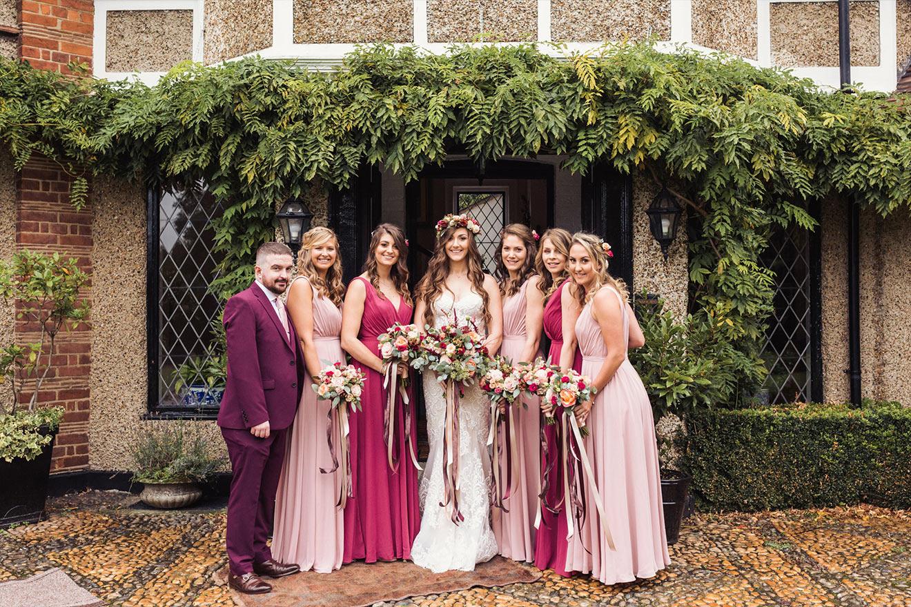 Boho gravesend wedding photography