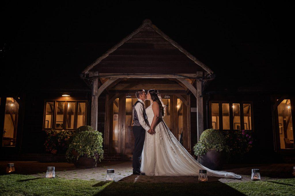 Cooling Castle Barn Covid Wedding